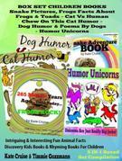 Box Set Set Children's Books: Snake Picture Book - Frog Picture Book - Humor Unicorns - Funny Cat Book For Kids Dog Humor: Children's Books and Bedtim