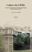 Cahiers du CIERL - 4/2014
