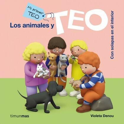 Los animales y Teo (Ebook interactivo)