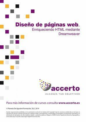 Diseño páginas web. Enriqueciendo HTML mediante Dreamweaver