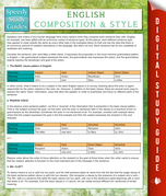 English Composition And Style (Speedy Study Guides)