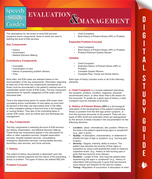 Evaluation And Management (Speedy Study Guides)