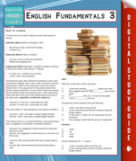 English Fundamentals 3 (Speedy Study Guides)