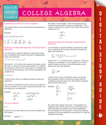 College Algebra (Speedy Study Guides)