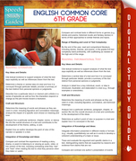 English Common Core 6th Grade (Speedy Study Guides)