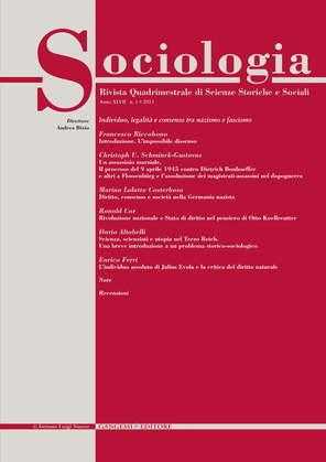 Sociologia n. 1/2013