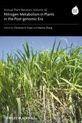 Annual Plant Reviews, Nitrogen Metabolism in Plants in the Post-genomic Era