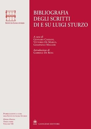 Bibliografia degli scritti di e su Luigi Sturzo