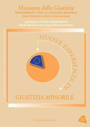 Nuove esperienze di Giustizia Minorile Unico 2012
