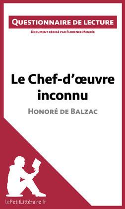 Le Chef-d'oeuvre inconnu de Balzac