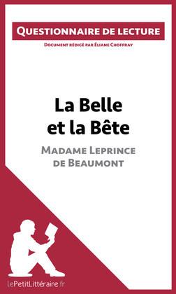 La Belle et la Bête de Madame Leprince de Beaumont