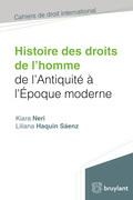 Histoire des droits de l'homme de l'antiquité à l'époque moderne