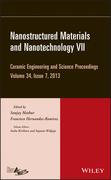 Nanostructured Materials and Nanotechnology VII