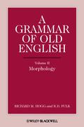 A Grammar of Old English, Volume 2