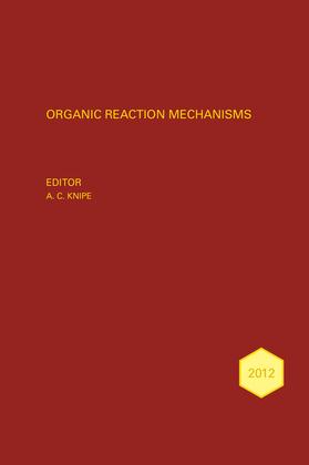 Organic Reaction Mechanisms 2012