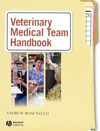 Veterinary Medical Team Handbook