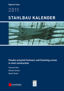 Powder-actuated Fasteners and Fastening Screws in Steel Construction