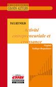 Paul Reynolds - Activité entrepreneuriale et croissance