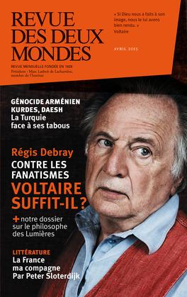 Revue des Deux Mondes avril 2015
