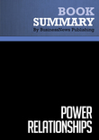 Summary : Power Relationships - Andrew Sobel and Jerold Panas