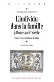 L'individu dans la famille à Rome au ive siècle