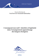 L'enseignant non natif : identités et légitimité dans l'enseignement-apprentissage des langues étrangères