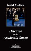 Discurso en la academia sueca