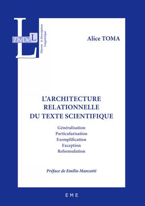 L'architecture relationnelle du texte scientifique