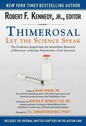 Thimerosal: Let the Science Speak