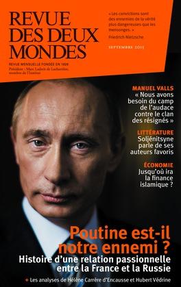 Revue des Deux Mondes septembre 2015