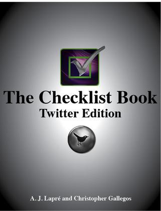 The Checklist Book: Twitter Edition