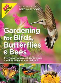 Gardening for Birds, Butterflies, and Bees