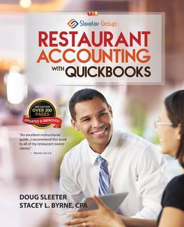 Restaurant Accounting with QuickBooks: How to set up and use QuickBooks to manage your restaurant finances