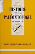 Histoire de la paléontologie