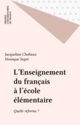 L'Enseignement du français à l'école élémentaire