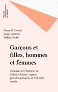 Garçons et filles, hommes et femmes