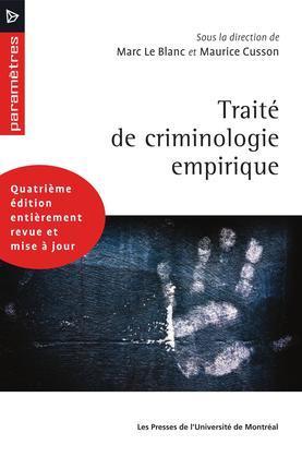 Traité de criminologie empirique (4e édition)