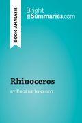 Rhinoceros by Eugène Ionesco (Book Analysis)