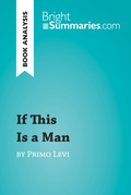 If This Is a Man by Primo Levi (Book Analysis)