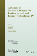 Advances in Materials Science for Environmental and Energy Technologies IV