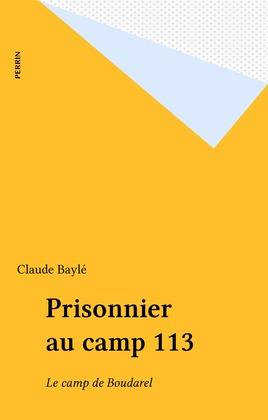 Prisonnier au camp 113