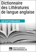 Dictionnaire des Littératures de langue anglaise
