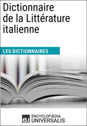 Dictionnaire de la Littérature italienne