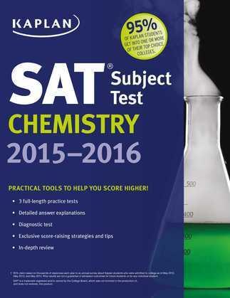 Kaplan SAT Subject Test Chemistry 2015-2016