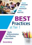 Best Practices at Tier 1 [Secondary]