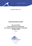 Transversalités. 20 ans de FLES