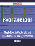 Project Status Report - Simple Steps to Win, Insights and Opportunities for Maxing Out Success