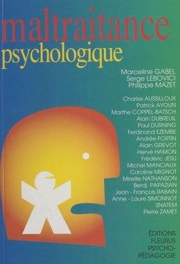 Maltraitance psychologique