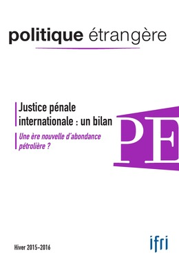 Justice pénale internationale : un bilan