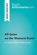 All Quiet on the Western Front by Erich Maria Remarque (Book Analysis)
